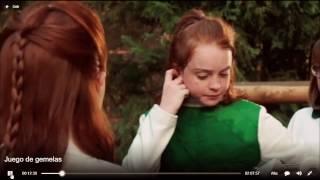 Annie y halie se conocen por primera vez | juego de gemelas