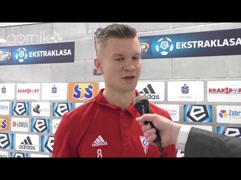 Konrad Nowak przed meczem z Rozwojem (05.12.2018)