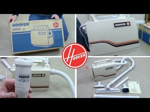 1980s Hoover Compact S3196 Vacuum Cleaner Unboxing & First
