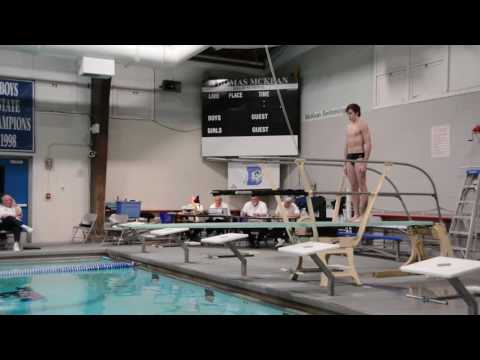 Delaware High School Diving Championships 2017 part 1