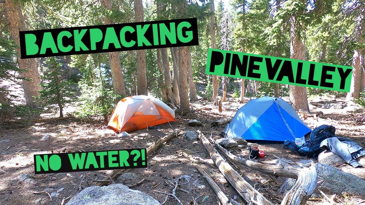 Backpacking Pine Valley - YouTube
