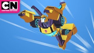 Transformers Cyberverse | Under Attack | Cartoon Network