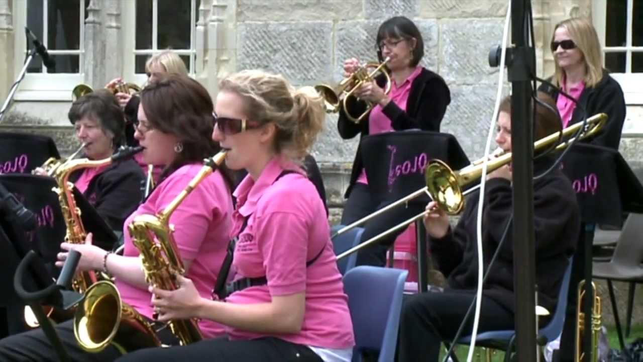 Sarah Bolter Jazz Gojo Highcliffe Castle All Girl Jazz
