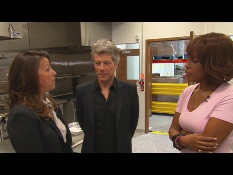 Jon Bon Jovi and wife on Soul Kitchen farm and philanthropy