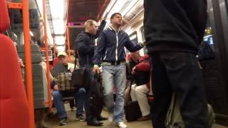 Inside the metro - Prague, Czech Republic