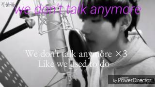 We don't talk anymore-V(뷔)