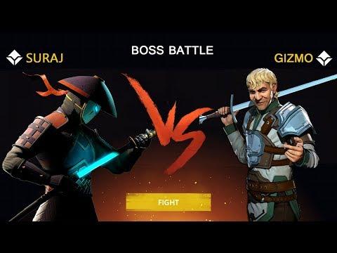Shadow Fight 3 Official Boss Battle GIZMO Walkthrough -  Part 2