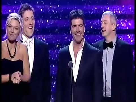 The X Factor win their First National Television Awards in 2005