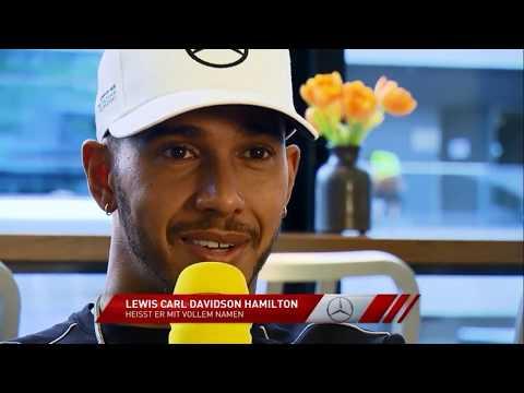 Lewis Hamilton als Mensch!!  Privat Interview | Formel 1