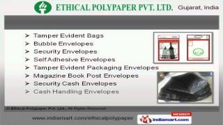Stationary & Packaging Envelopes by Ethical Polypaper Pvt. Ltd., Ahmedabad