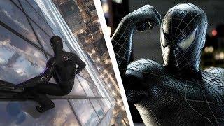 Spider-Man PS4 Recreating Spider-Man 3 Black Suit scene