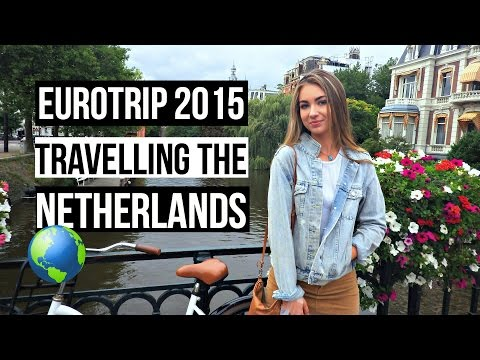 Places to visit in the Netherlands - Amsterdam and Rotterdam