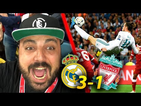 ¡CHILENA de BALE en VIVO! REAL MADRID 3-1 LIVERPOOL | Final Champions League