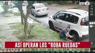 """Ataque de """"roba ruedas"""": estos son y así operan"""