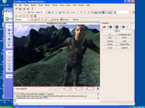 far cry 1 sandbox editor play levels tutorial no1 youtube