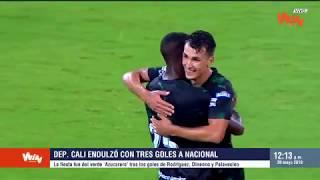 Pasión Fútbol | Cali logró un dulce triunfo en el duelo de verdes con Nacional