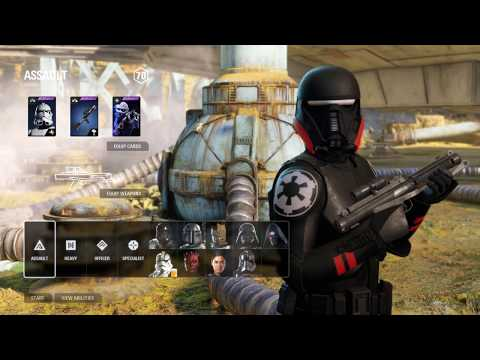 Inquisitor Storm Troopers MOD Gameplay on Kessel - Star Wars Battlefront 2