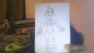 Chica the Chicken 2.0 ( Fnaf2 ) Drawling