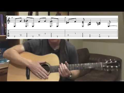 How To Play She Treats Me Well By Ben Howard Tutorial Part 2 +TAB - Chorus And Outro