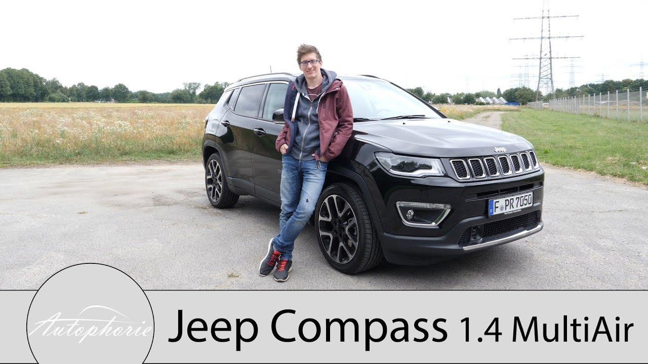 2018 Jeep Compass 1.4 MultiAir Fahrbericht / Lifestyle-Bruder des Renegade - Autophorie