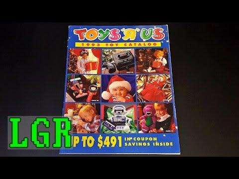 "LGR - 1993 Toys""R""Us Catalog Nostalgia"