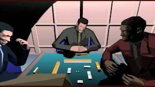 Killer 7 - Mahjong running on Dolphin 720p HQ
