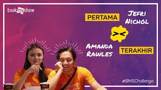 Download Video BMS Challenge! Amanda Rawles - Jefri Nichol  Pertama dan Terakhir Kali - BookMyShow Indonesia MP3 3GP MP4