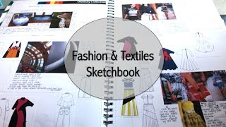 BA Fashion/Textiles Sketchbook