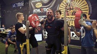 Insanity Meet 2018 - Schafft Tetzel die 800 Kg Total? - Powerlifting Wettkampf