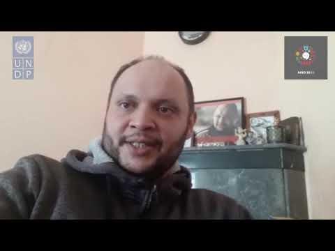 AKID2030 - Message de solidarité de l'acteur Adil Abatorab