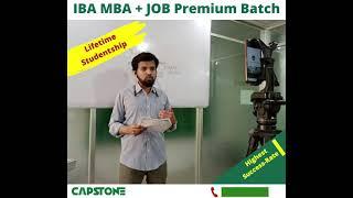 IBA MBA + JOB Premium Batch