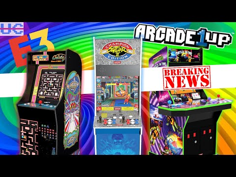 Arcade1up E3 ANNOUNCEMENTS! from Unqualified Critics