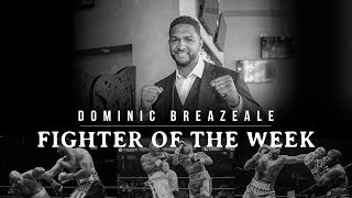 Fighter Of The Week; Dominic Breazeale
