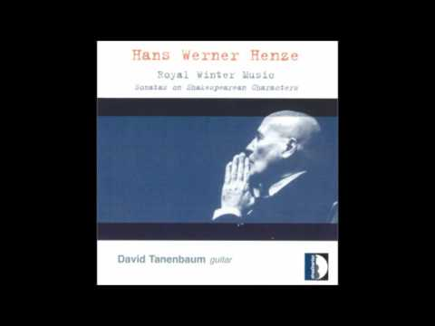 Hans Werner Henze -  Royal Winter Music (Sonata No.2), for guitar