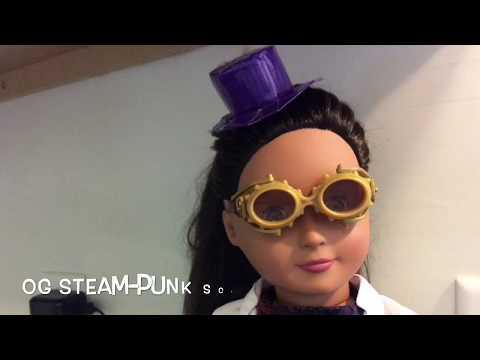 Making a Scientist OG doll, a Steampunk Scientist