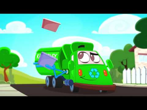 Thumbnail: Gilbert The Garbage Truck: Preschool TV Series with a Green Message