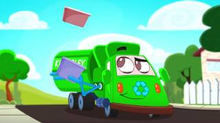 Gilbert The Garbage Truck:  Preschool TV Series with a Green Message