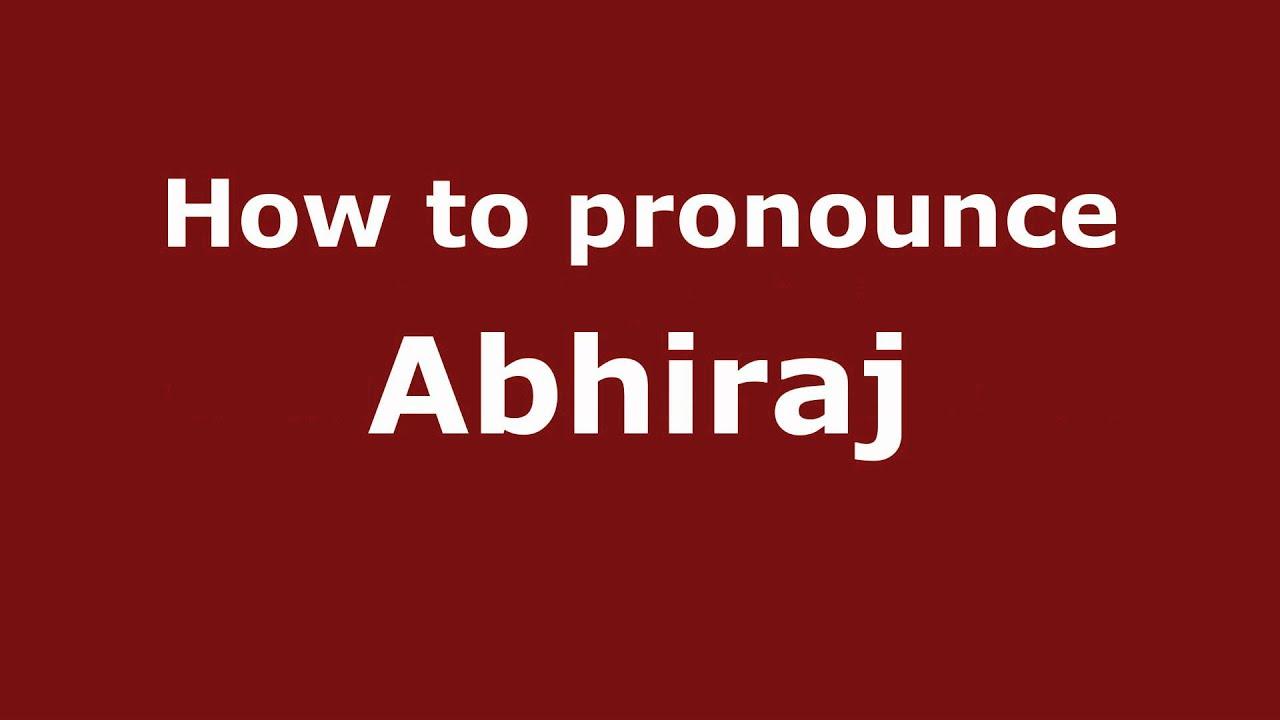 abhiraj name live