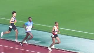 19年4月14日 金栗記念 男子5000m 6組