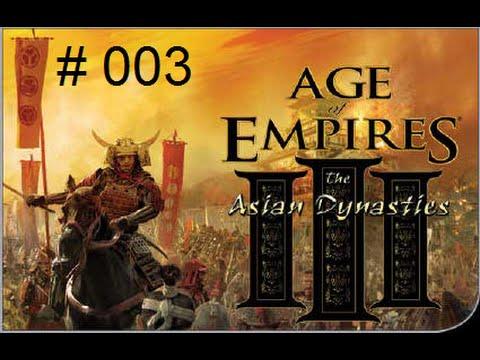 "AoE III: The Asian Dynasties #J 03 - ""Osaka fällt"" - [Deutsch] - [HD]"