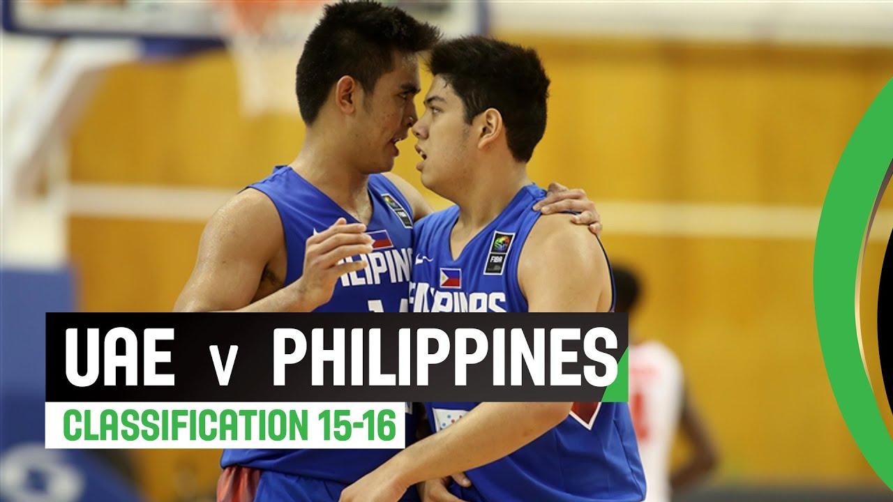UAE v Philippines - Classification 15-16