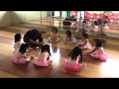 Safeeya's First Day of Ballet in school(part 1) Travel Video