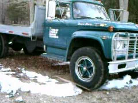 Ford F750 For Sale >> 1968 ford 391 running - YouTube