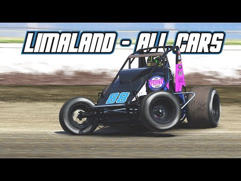 iRacing: Limaland Track Preview - All Cars