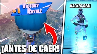 A REAL Hacker Drives the BATTLE BUS and Makes Me WIN Every 1 Second... -Fortnite