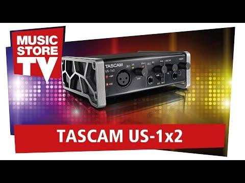TASCAM US-1x2 Professionelles Audio-Interface Für Unter 100 Euro