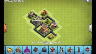 TH 3 anti 3star war base and home base | Clash of Clans