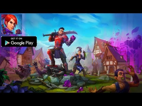 FOG – Battle Royale Gameplay Обзор Первый взгляд Летсплей (Android,APK)