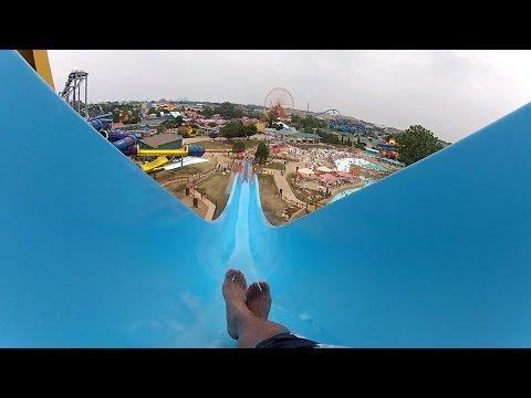 """Wave Runner"" Body Slide POV Kentucky Kingdom and Hurricane Bay (Louisville, KY)"