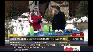Minnesota Cold Series Live on NBC's KARE 11 Morning News!
